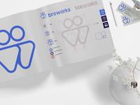 Broworks brand identity