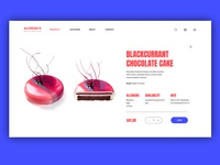 Online Cake Shop - Open product page