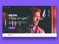 Neon Light Website