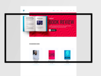 PewDiePie book review panding page design