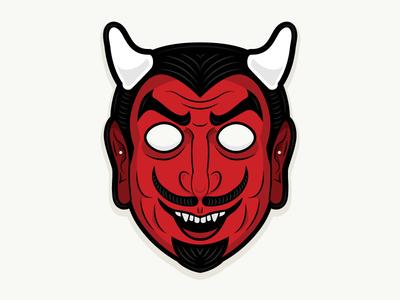 Plastic Horror - Devil Mask
