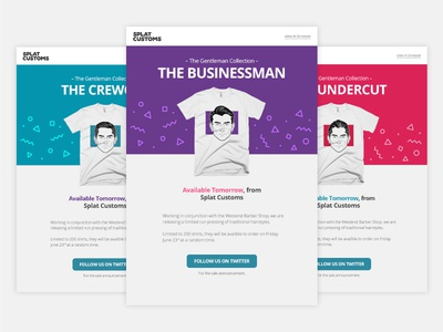 Email Template - The Gentleman Collection
