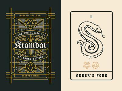 The Summoning of Kramdar - Cards
