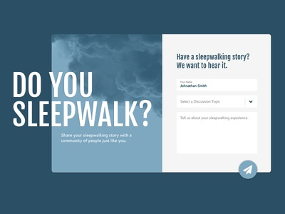 Website form overlay