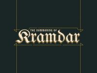 Kramdar Typographic Treatment