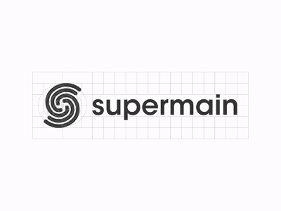 Supermain union ome caring cleaning services hands application logo design typography logomark identity brand minimal logo branding