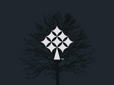 BRIGHTREE! icon minimal clean simple forest nature logomark tree branding logo