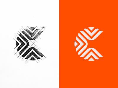 C for Caring. logomark center letter c c logo peace organization love caring logo branding