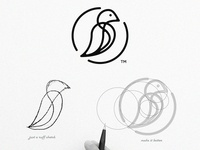 Bird .. logo process