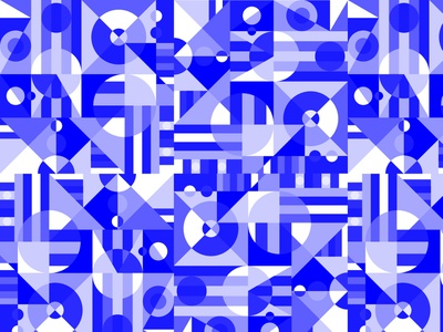 A bleu pattern identity monogram typography vector brand logo circle shapes bleu pattern design patten webdesign web design ui branding illustration