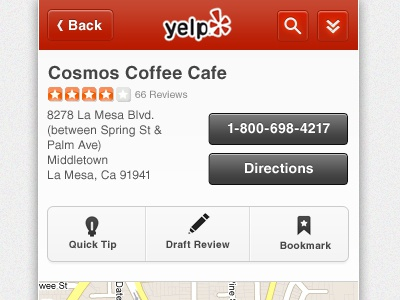 swan song yelp grey gray buttons business mobile cool action webkit