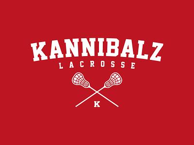 Kannibalz T-Shirt Design kannibalz nijmegen lacrosse t-shirt shirt design