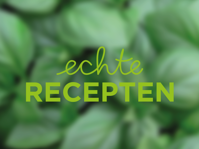 Echte Recepten Logo logo echte recepten handwritten design recipe cooking