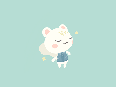 Marshal illustration procreate marshal newhorizons animalcrossing acnl