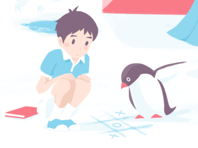 Penguin Highway Fanart illustration fanart penguin penguinhighway