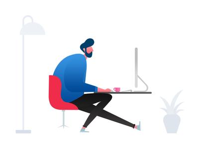 UX Designer Illustration