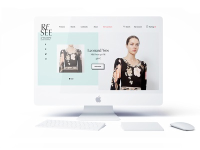 Resee outfits shopping e-commerce