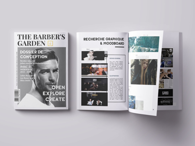 The Barber's Garden print magazine