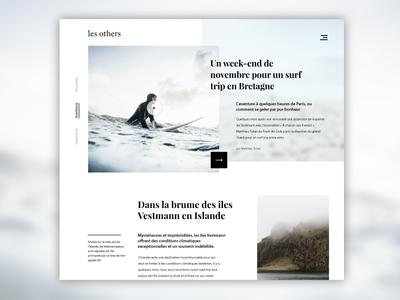 Les others - Webmagazine