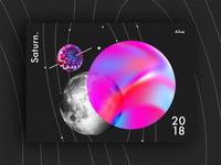 Saturn - Baugasm style  n°1