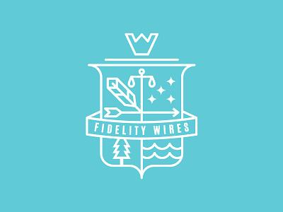 Emblem design type_B logo design shield emblem flat