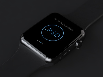 Apple Watch Free Mockup PSD_ver.2 template psd free apple watch mockup app ios