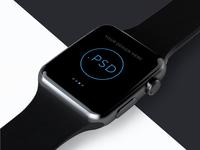 Apple Watch Free Mockup PSD_ver.2(Editable background image)