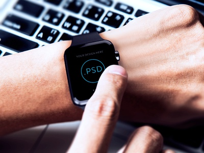 Apple Watch Free Mockup PSD_ver.3