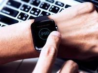 Apple Watch Free Mockup PSD_ver.3