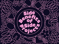 Overtime: Side-Benefits of Side-Projects charms bracelet abstract geometric shapes doodle podcast art