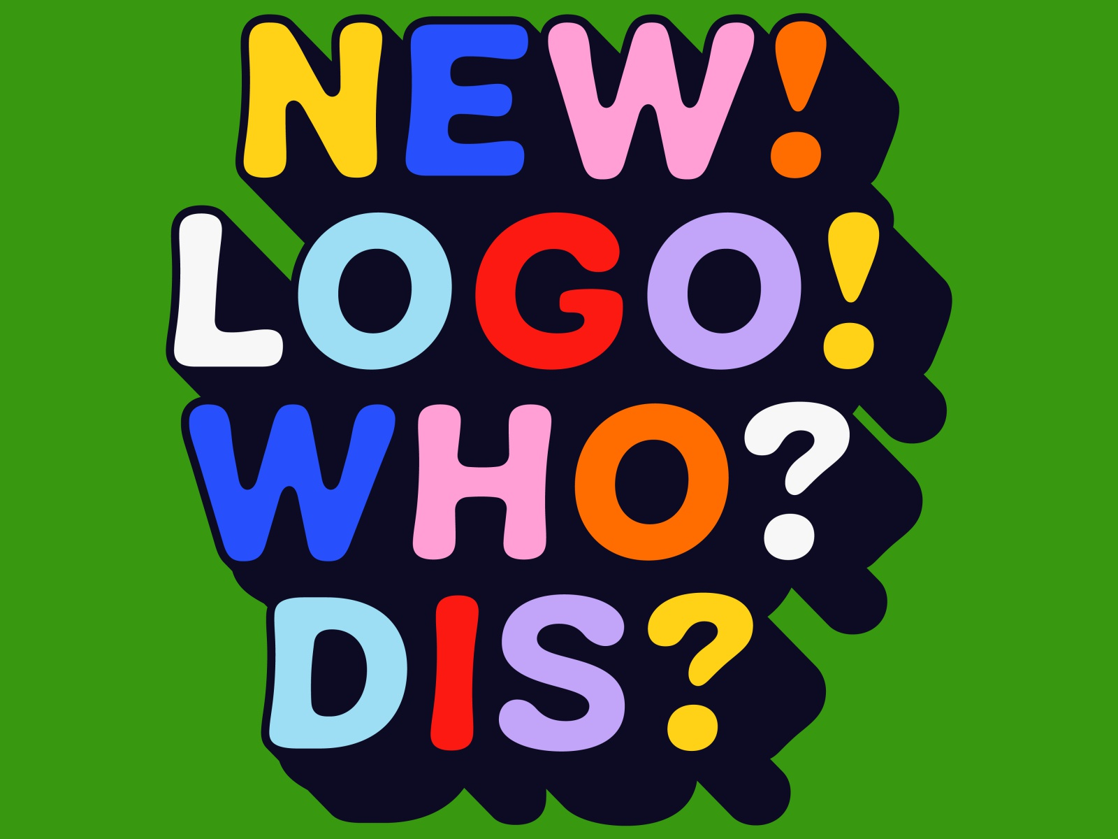 Overtime: New Logo, Who Dis?