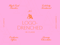 Overtime: A Logo Drenched in Class parody logo celebrity lifestyle high-class high-end exclusive design brand fine art luxury