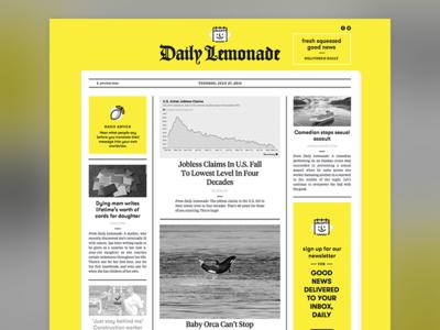Daily Lemonade Web