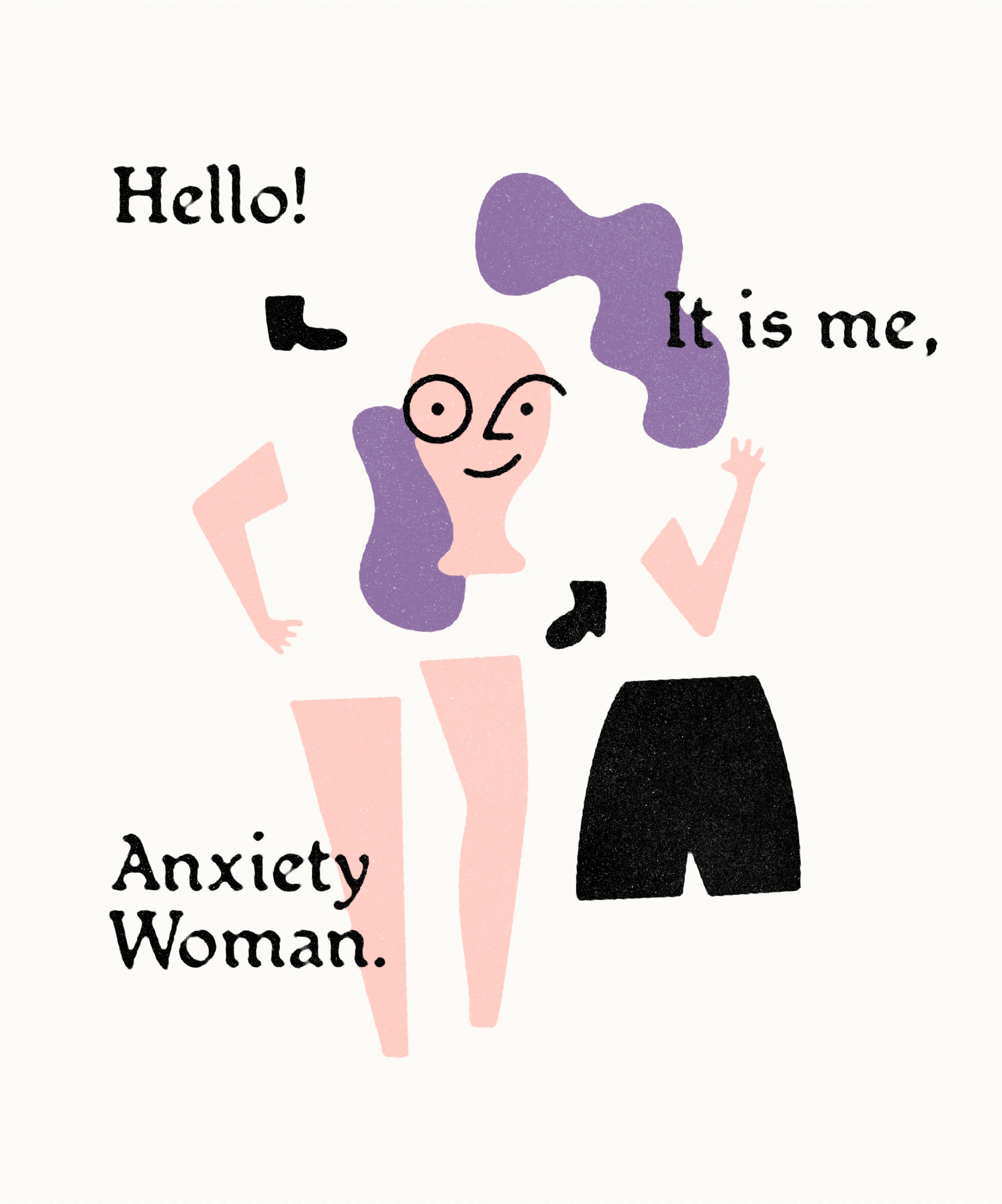 Anxietywoman pin2