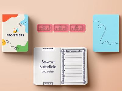 Notebook & Tickets