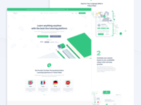 Tyro Landing Page Concept