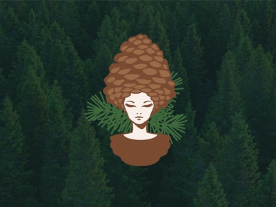 The forest girl