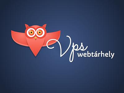 Owl logo for a webhosting service owl logo webhosting designcraft vps server web vector sketch