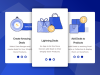 Lightning Deals Onboarding Slides For Shopify Platform