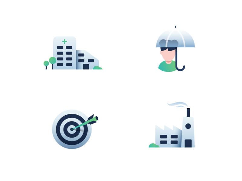 Industry icons industry iconography illustration icons