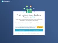 DataCamp Premium for Free by Adrien Duchateau for DataCamp on Dribbble