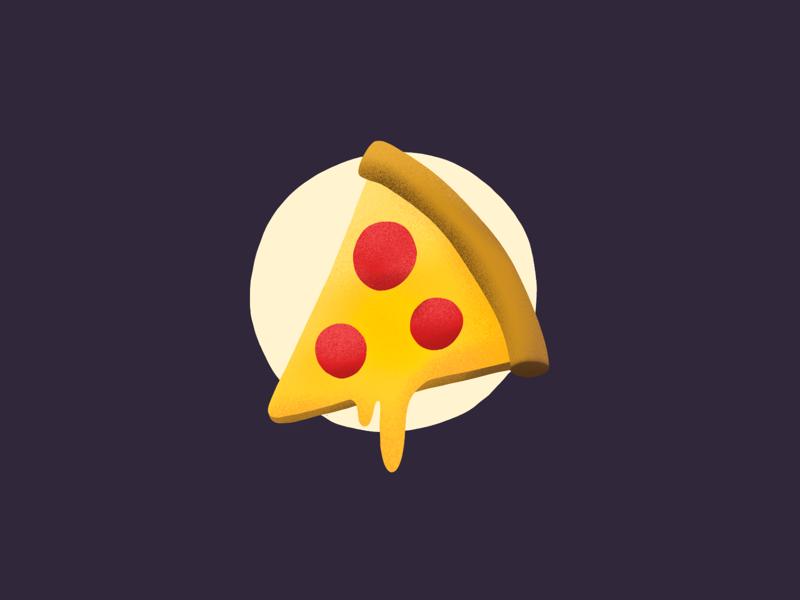 Did anyone say pizza?! procreate pizza food illustration