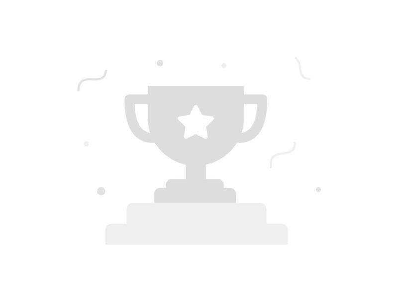 Empty State reward champion grey trophy emptystate illustration