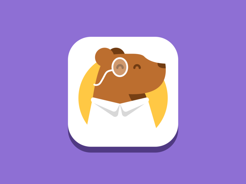 App Icon Experiment education datascience datacamp icon illustration bear ios mobileapp featured appstore