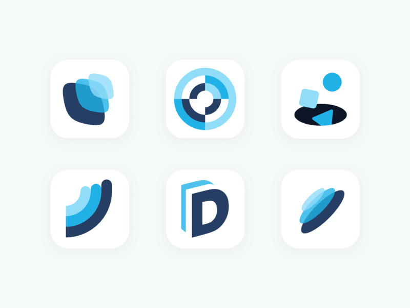 App Icons education vector shapes python r datascience appstore mobileapp datacamp