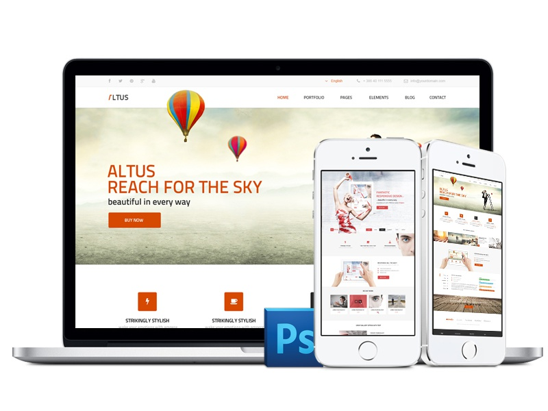 iPhone&Probook FREE Mockups mockup iphone free psd design