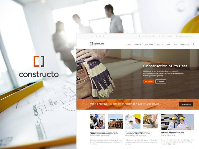 Construction Business Theme construction business theme wordpress company