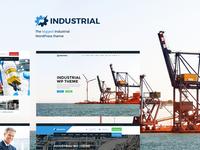 Industrial - Manufacturing WordPress Theme
