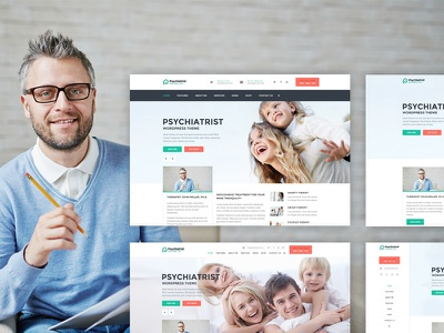 Psychiatrist - WordPress Theme theme css html wordpress therapist psychiatrist