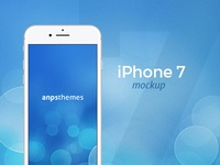 iPhone 7 FREE PSD Mockup